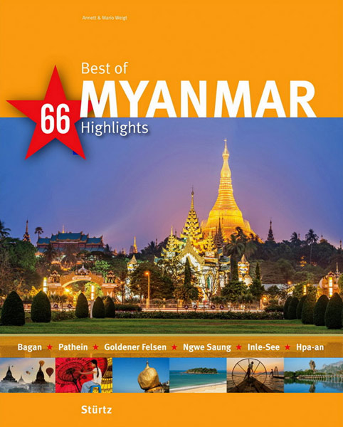 Bildband Best of MYANMAR - 66 Highlights